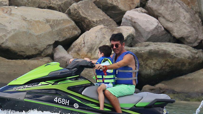 Simon Cowell mit seinem Sohn Eric, 2020