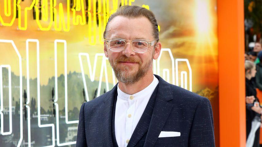 Simon Pegg, Schauspieler