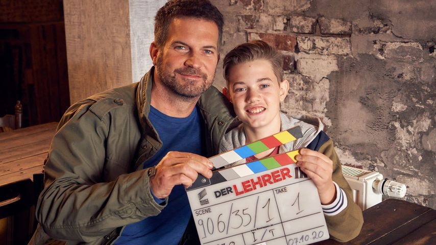"""""""Der Lehrer""""-Neuzugang Simon Böer: Sein Sohn spielt auch mit"""