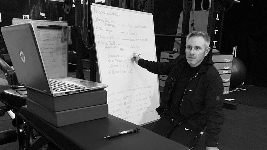Simon Waterson entwirft einen Work-out-Plan im März 2020