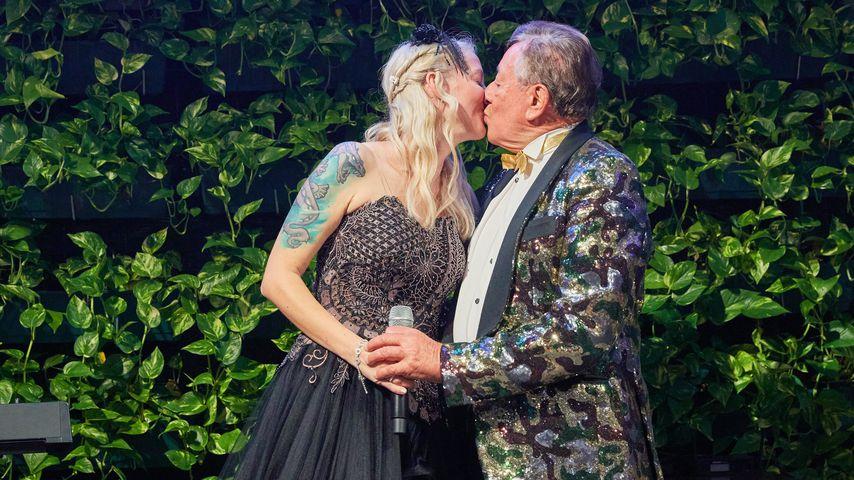 Simone Reiländer und Richard Lugner bei ihrer Verlobung im Oktober 2021