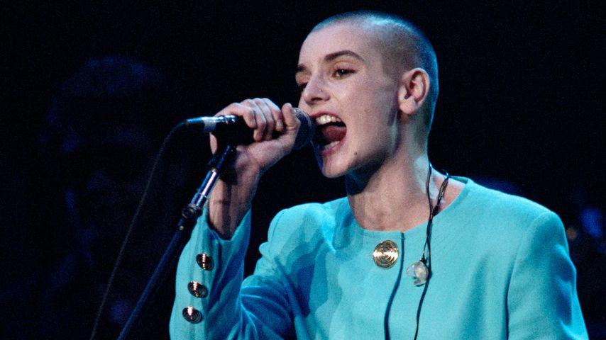 Sinéad O'Connor bei einem All-Star-Tribut für Bob Dylan im Madison Square Garden im Oktober 1992