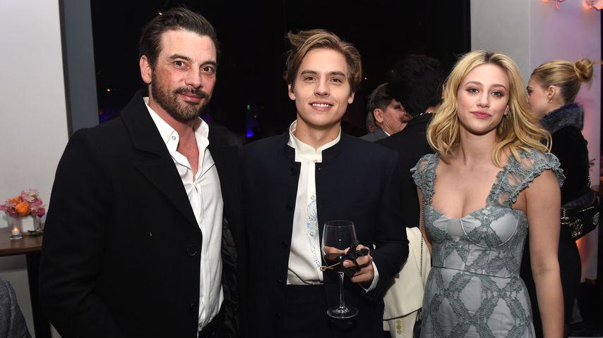 Skeet Ulrich, Cole Sprouse und Lili Reinhart in L.A. 2019