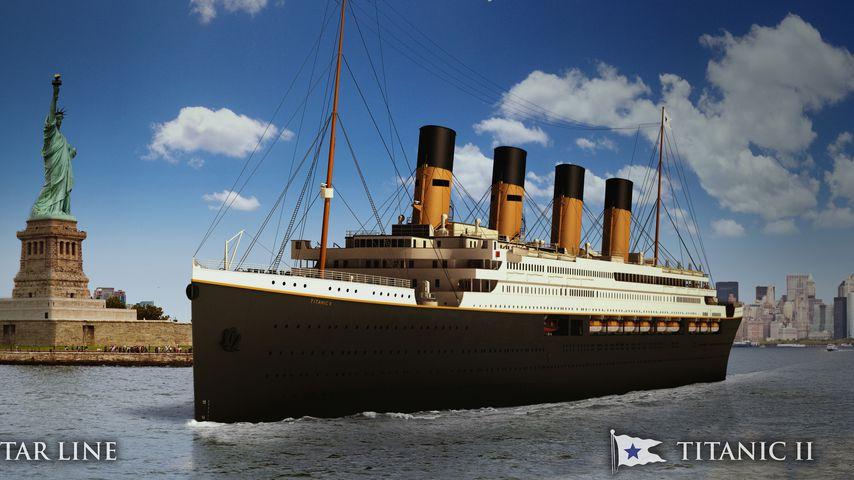 """110 Jahre nach Drama: """"Titanic II"""" soll 2022 in See stechen!"""