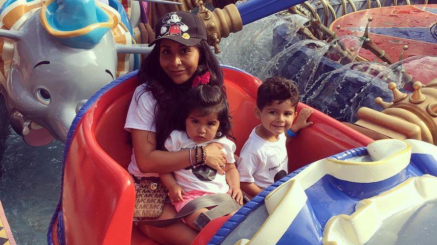 Snooki mit ihren Kindern Giovanna Marie und Lorenzo Dominic