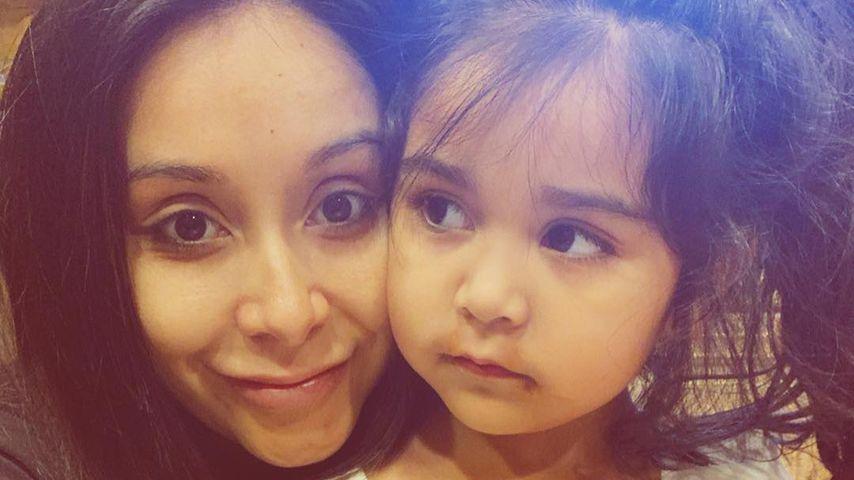 Snooki mit ihrer Tochter