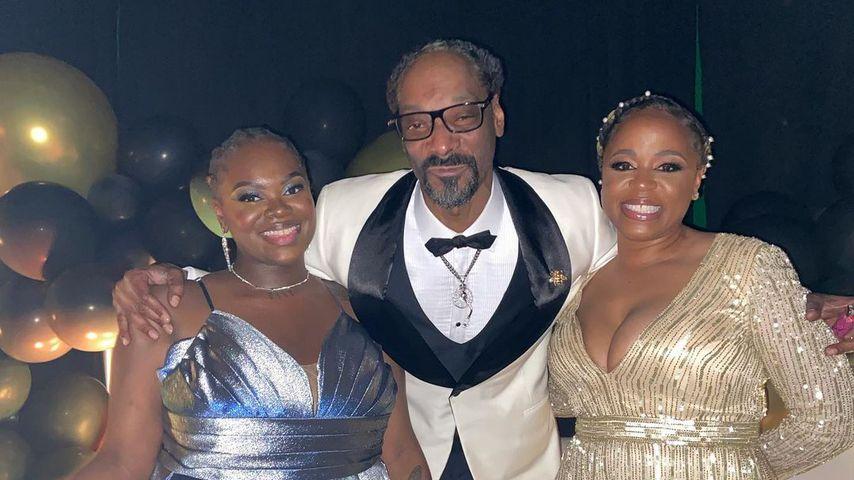 Cori Broadus mit ihren Eltern Snoop Dogg und Shante Broadus