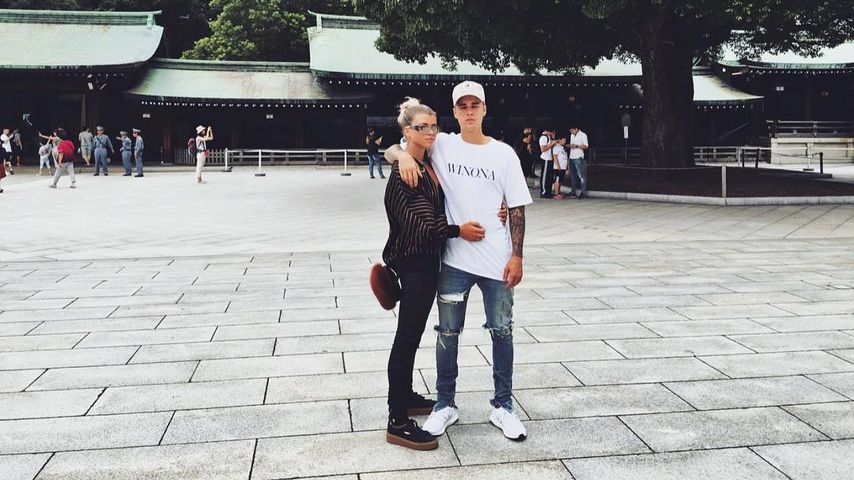 Sofia Richie und Justin Bieber in Japan