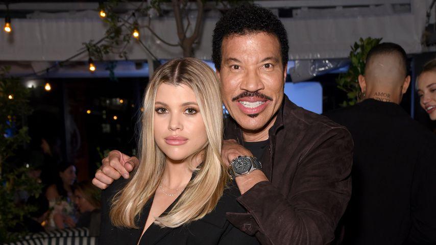 Sofia Richie und Lionel Richie im Februar 2020 in Kalifornien