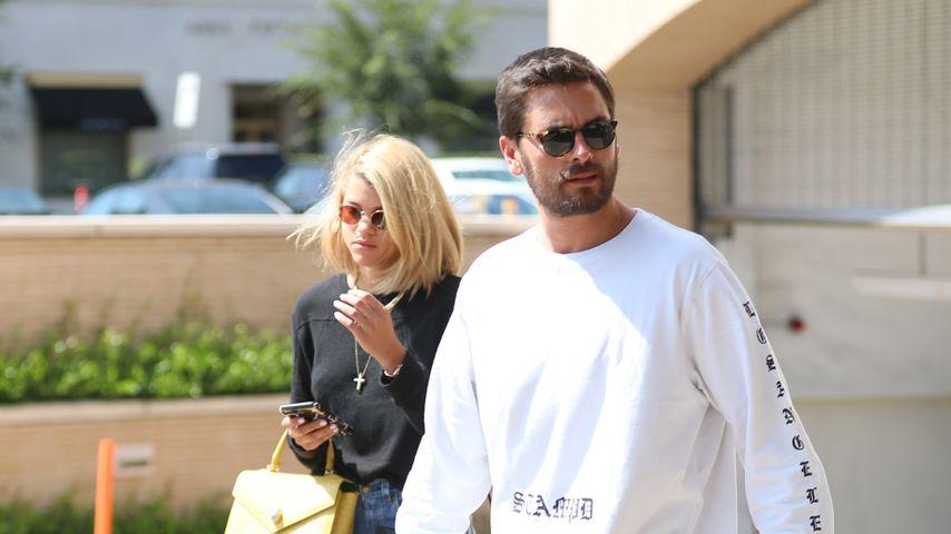 Sofia Richie und Scott Disick in Beverly Hills