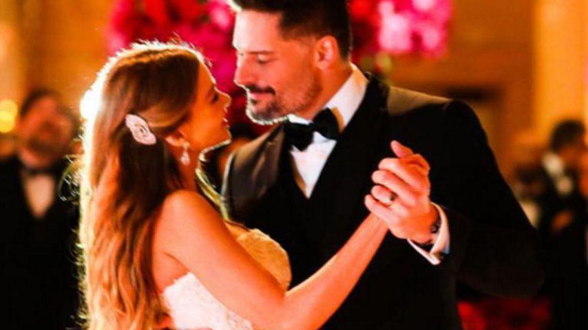 Sofia Vergara und Joe Manganiello bei ihrer Hochzeit im November 2015