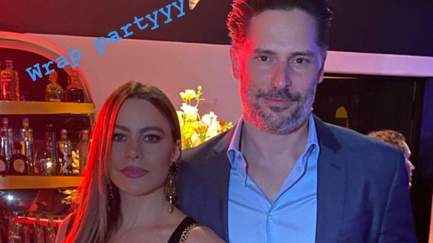 """Sofia Vergara und Joe Manganiello auf der """"Modern Family""""-Abschiedsparty"""