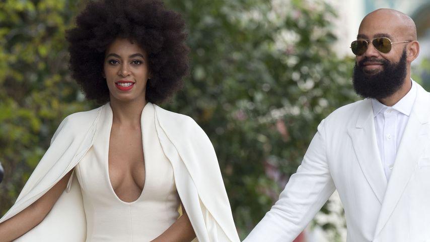 Solange Knowles und Alan Ferguson