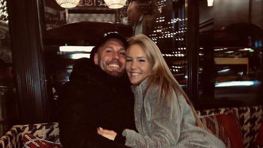 Sonia Liebing (rechts) mit ihrem Ehemann Markus