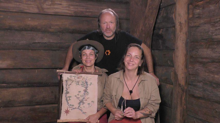 Sonja Kirchberger, Markus Reinecke und Danni Büchner an Tag 11 im Dschungelcamp