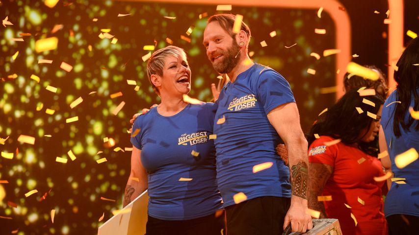 "Sonja und Ole im ""The Biggest Loser""-Finale"