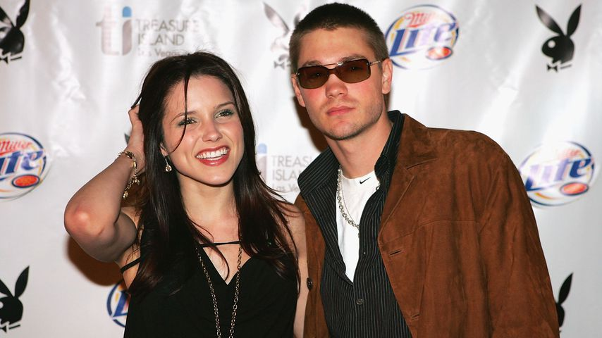 Sophia Bush und Chad Michael Murray bei einer Playboy-Party 2005