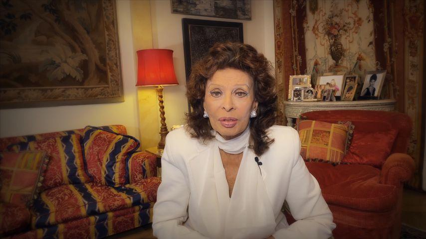 Sophia Loren im Oktober 2020