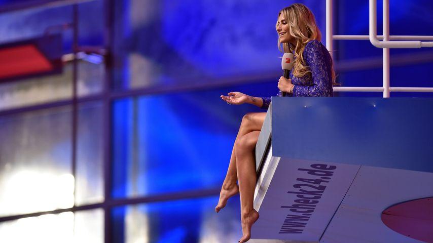 Sophia Thomalla: Turmsprung-Moderation gegen Trennungs-Frust