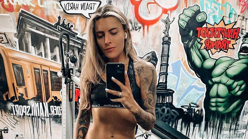 Im Gym: Sophia Thomalla zeigt halb nackt ihre Mega-Muckis