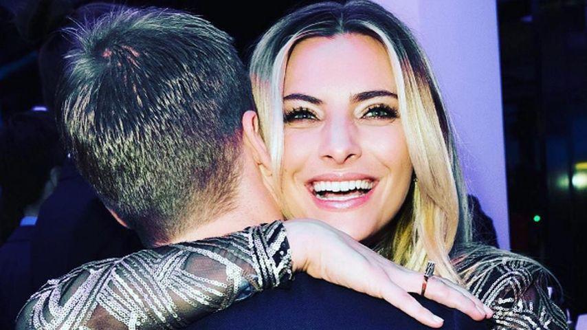 Die haben sich gern: Sophia Thomalla kuschelt mit Oli Pocher