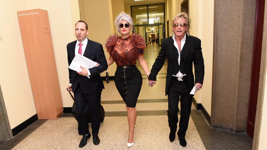 Sophia und Bert Wollersheim mit ihrem Anwalt