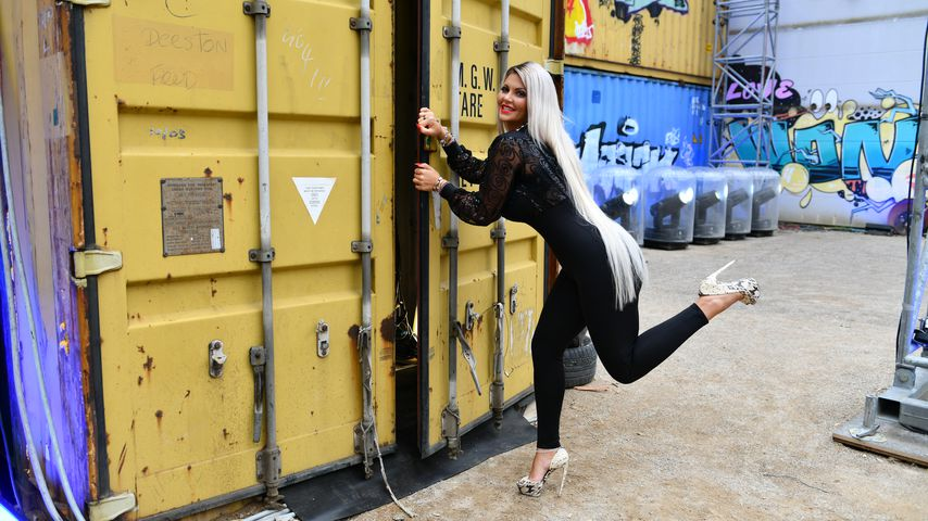 "Sophia Vegas beim Einzug in den ""Promi Big Brother""-Container"