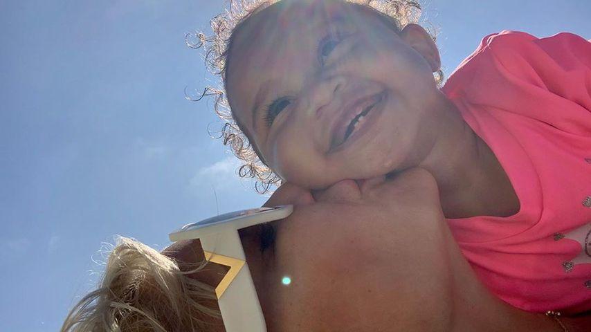 Sophia Vegas und Tochter Amanda, Juli 2020