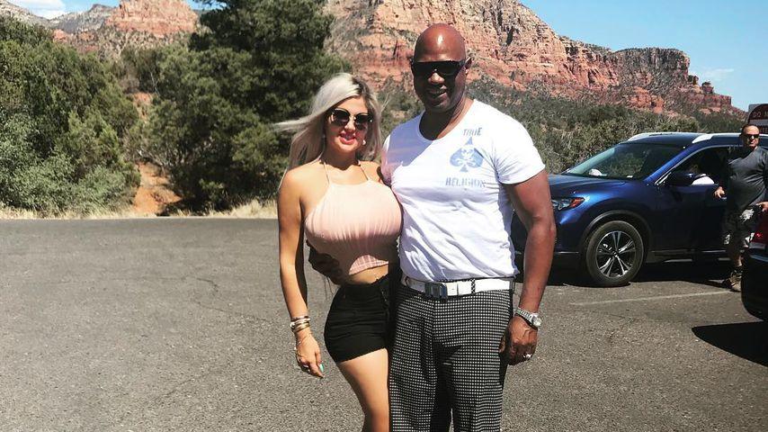 Sophia Vegas mit ihrem Freund Dan Charlier