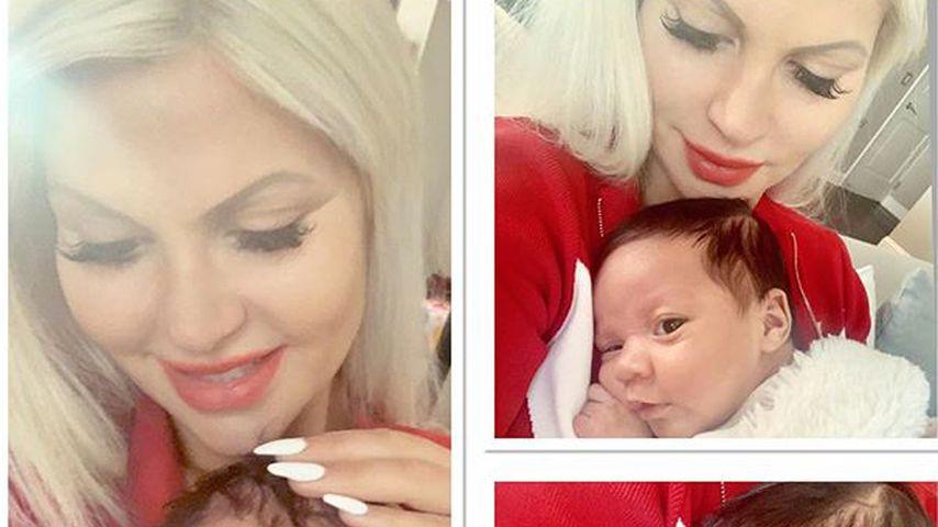 Sophia Vegas mit ihrer Tochter Amanda Jaqueline