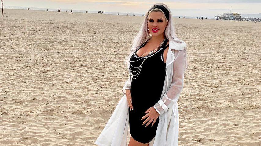 Kurz vor Geburt: Sophia Vegas' Baby-Bauch noch total klein