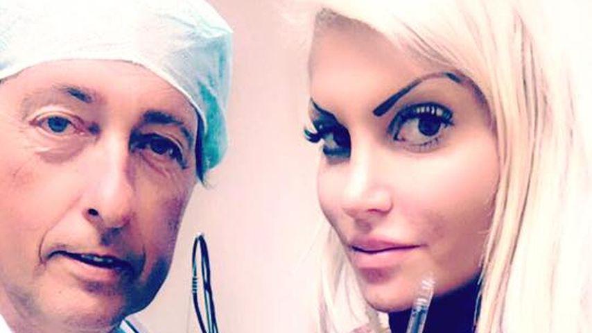 Sophia Wollersheim: Shitstorm für Selfie beim Beauty-Doc