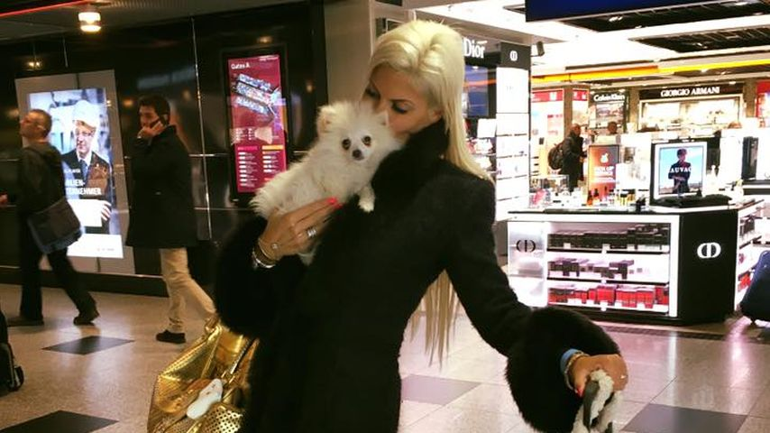 Sophia Wollersheim mit Barney Boo