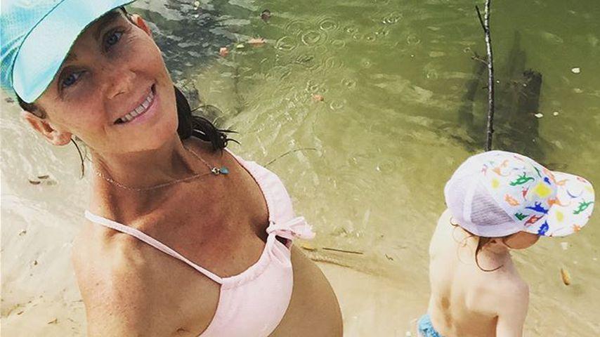 Sophie Emma Rose mit ihrem Sohn Shaye (5)