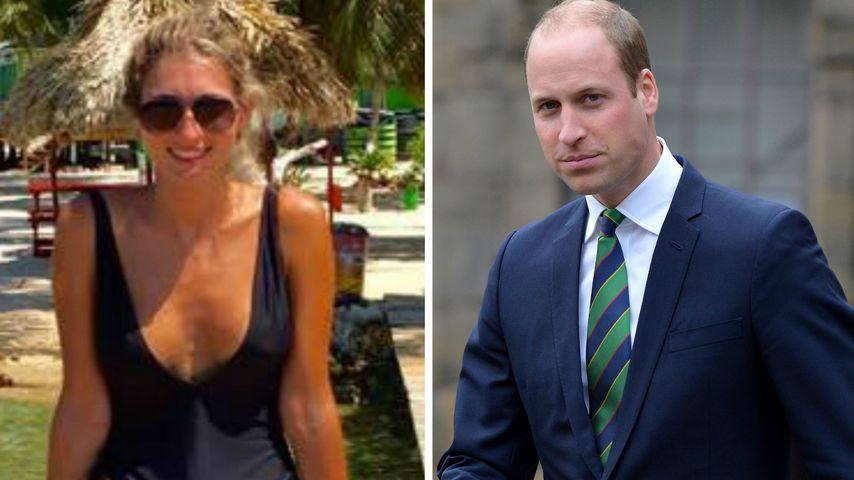 Sexy Model statt Kate? SIE ist Prinz Williams Urlaubs-Flirt!