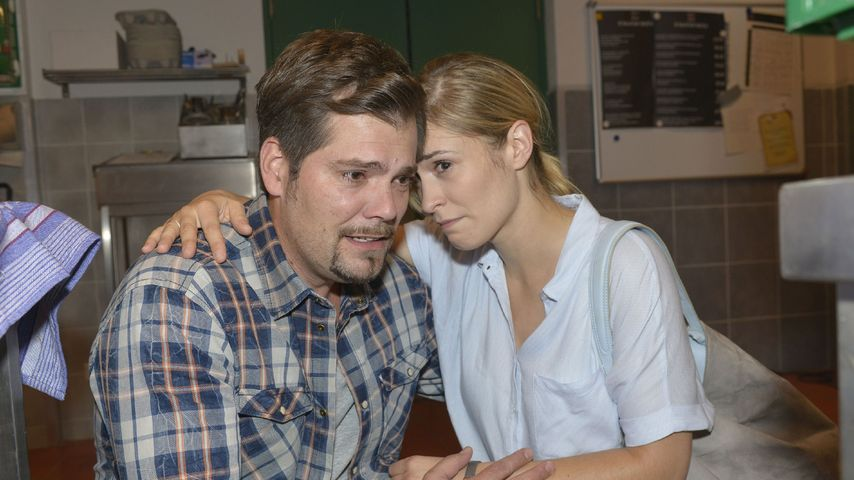 GZSZ-Leon & Sophie getrennt: Daniel Fehlow richtig traurig!