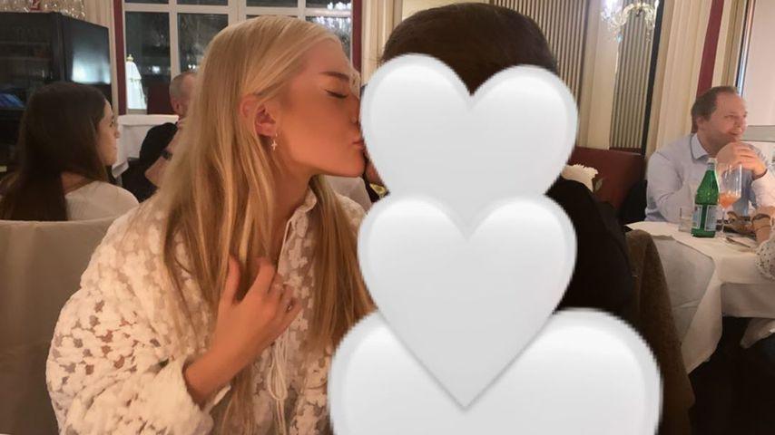 Sophie Lilian Marstatt mit ihrem Herzbuben