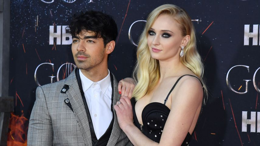 "Joe Jonas und Sophie Turner bei der ""Game of Thrones""-Premierenfeier im April 2019"