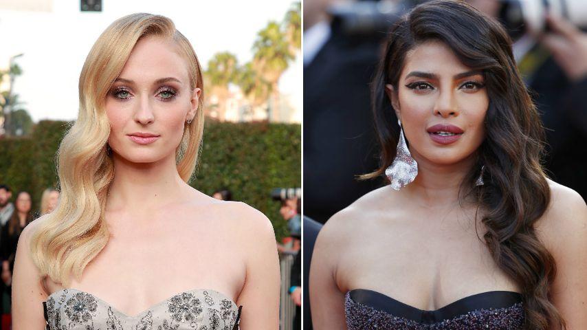 Style-Twins: Sophie Turner & Priyanka trugen gleichen Look