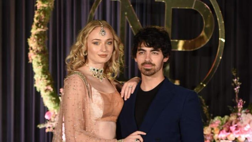 Sophie Turner und Joe Jonas bei der Hochzeit von Priyanka Chopra und Nick Jonas