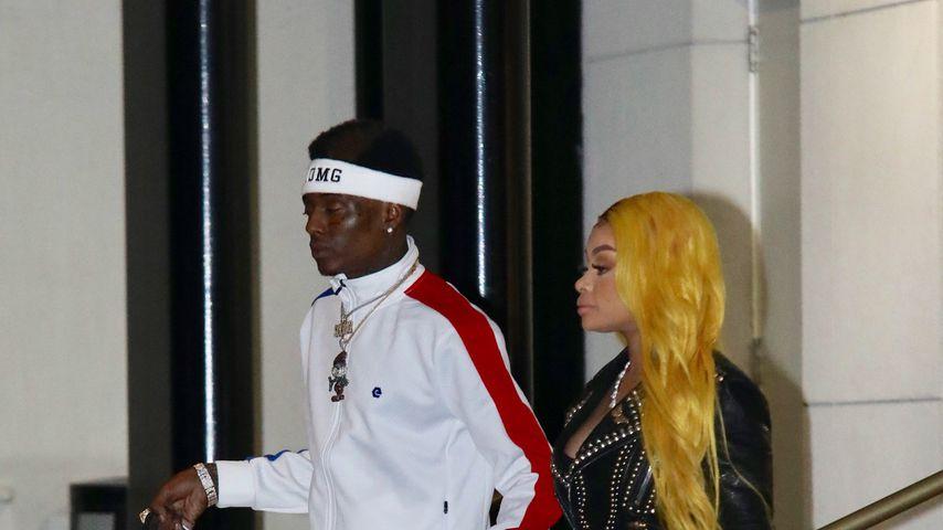 Soulja Boy und Blac Chyna in Beverly Hills, Februar 2019