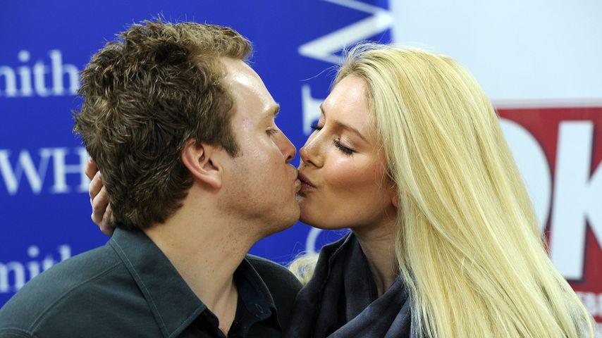 Spencer Pratt und Heidi Montag bei einer Autogrammstunde im Brent Cross  Shopping Center