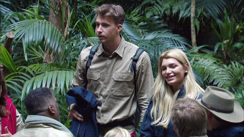 David Friedrich und Giuliana Farfalla im Camp