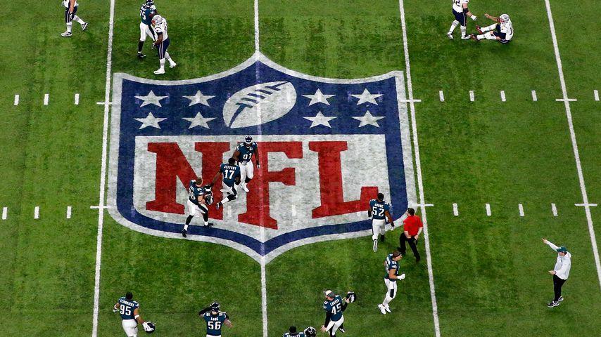 Spielende des 52. Super Bowls in Minneapolis