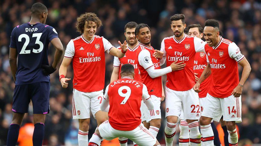 Fußballspiel abgesagt: Arsenal-Spieler unter Corona-Verdacht