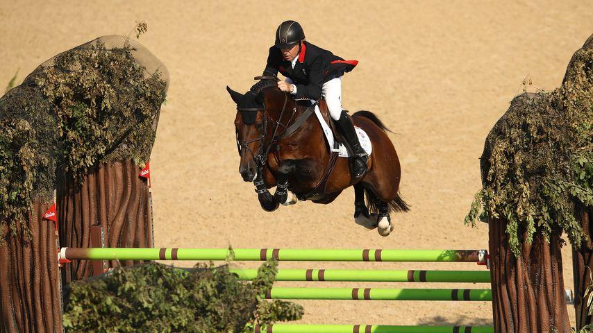 Olympia-Sieger Nick Skelton und sein Pferd Big Star