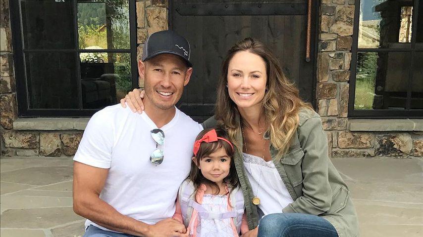 Stacy Keibler und Jared Pobre mit ihrer Tochter