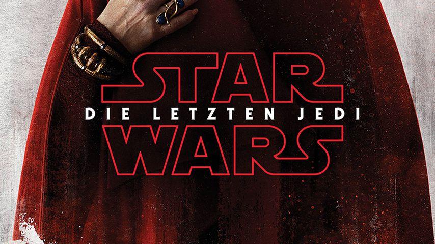"""""""Star Wars: Die letzten Jedi""""-Filmplakat mit Carrie Fisher"""