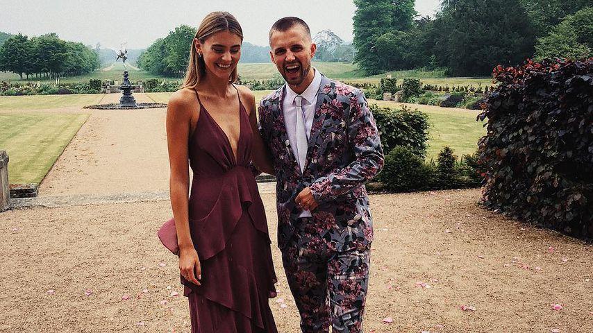 Statt GNTM-Finale: Steffi Giesinger auf Hochzeit mit Marcus