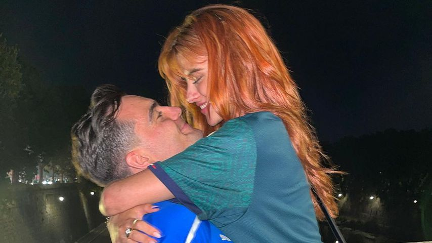 Stefano Zarrella und Romina Palm in Rom